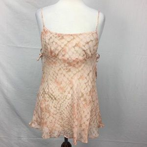 Victoria's Secret Orange Silk Nightie